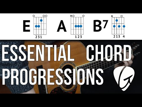 Chord Progression Practice - E A B7 - Country, The Blues and Rock 'n Roll - Easy Guitar Chords