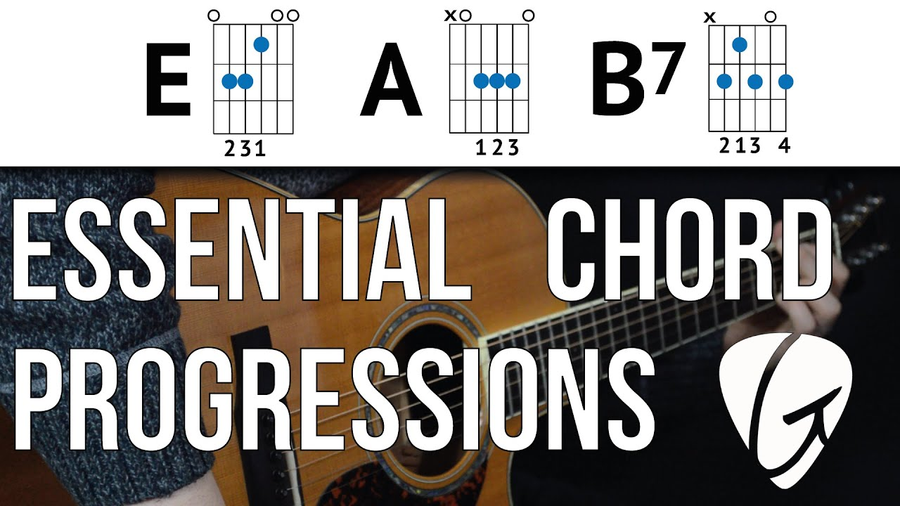 Chord Progression Practice E A B7 Country The Blues And Rock N