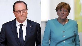 Merkel and Hollande deeply regret Britains vote to leave the EU