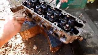 Lanos. Поршень+клапан=Ремонт ГБЦ.(Ремонт ГБЦ Lanos после удара поршнями по клапанам. #ремонтавто #ремонтдвигателя #капремонтдвигателя #ремонтхо..., 2016-08-29T15:05:27.000Z)