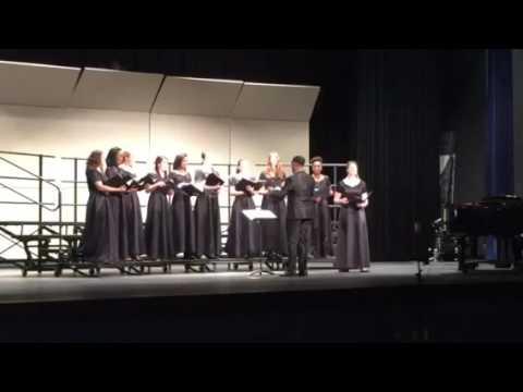 Garrison Forest School Chamber Choir - April 2015