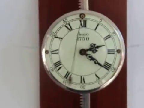 Wuba Gravity Wall Top Clock Rarity German Saw Fixed