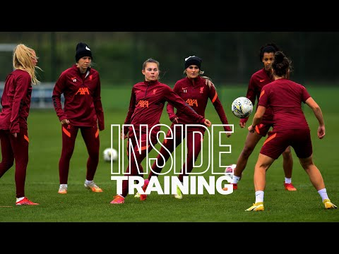 Inside Training: LFC Women prepare for Aston Villa
