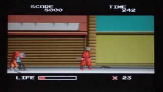 Ninja Warriors - PC Engine