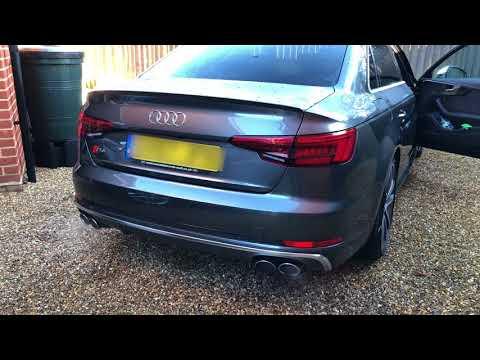 Audi S4 Exhaust modification