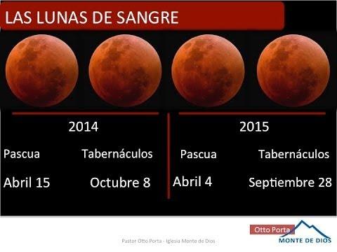 Eclipses 2014 Luna Roja de Eclipses de Luna Roja