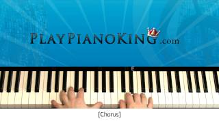 How to Play Forget You by Cee Lo Green Piano Tutorial