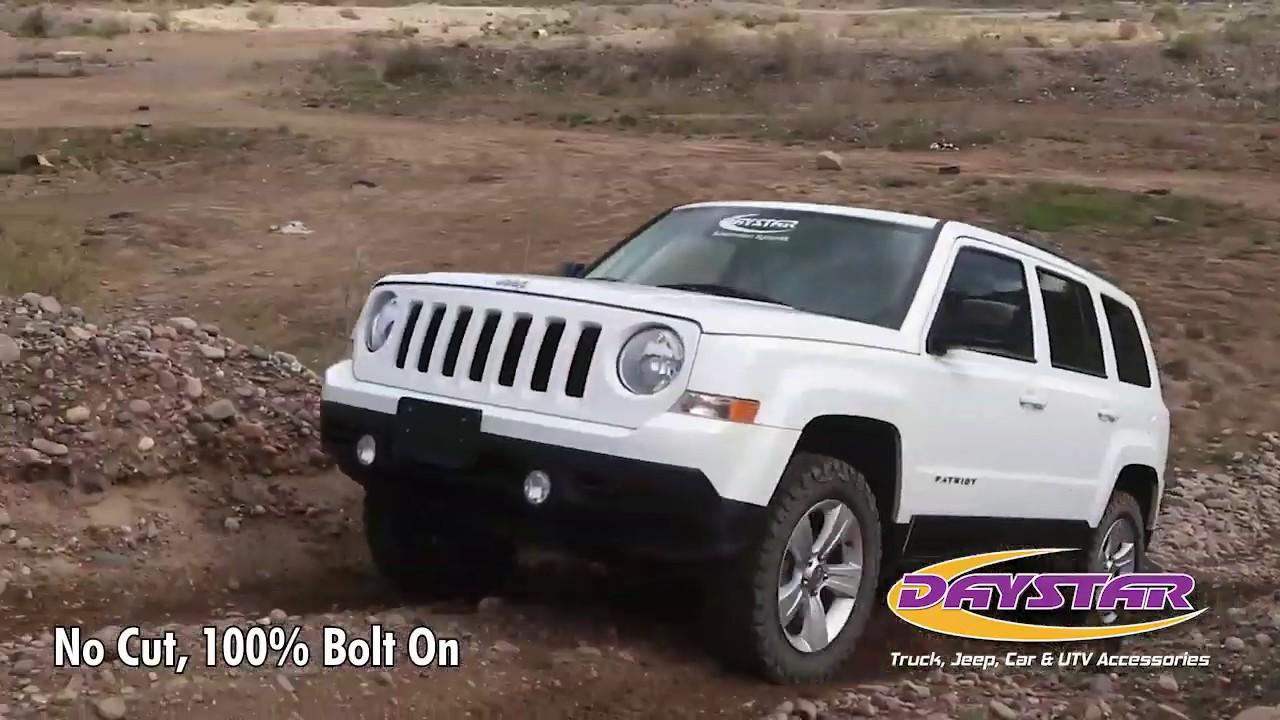Lifted Jeep Patriot >> 07 17 Jeep Patriot 1 1 2 Lift Kit Daystar