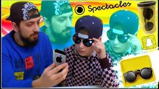 Snapchat Spectacles окуляри - РОЗПАКУВАННЯ + ОГЛЯД ! Розумні окуляри з вбудованою HD-камерою 2017