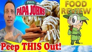 Papa John's® | Cinnamon Knots Review! Peep This Out!