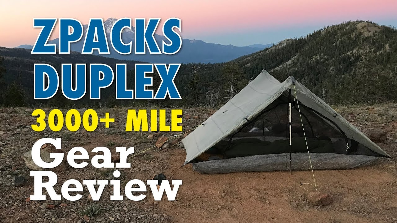 ZPacks Duplex 3,000+ Mile Review
