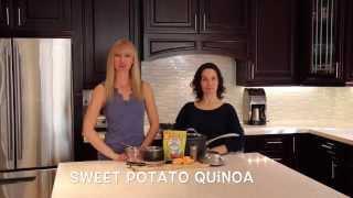 Easy Vegan Meal - Sweet Potato Quinoa