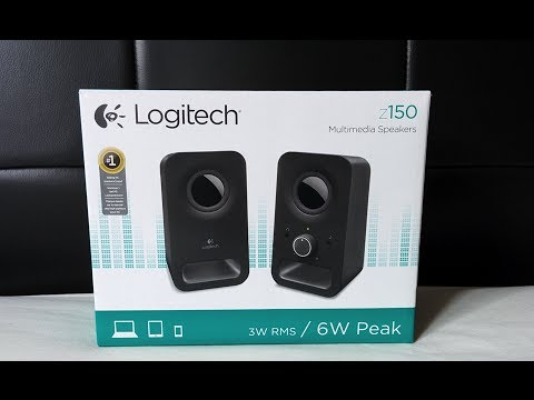 Logitech Z150 unboxing and quick look - YouTube e314567f83f68