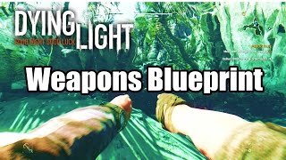 Dying Light Guns Pistol Police Rilfe- Easter Egg- Excalibur Secret Weapon Blueprint PS4 HD 1080p