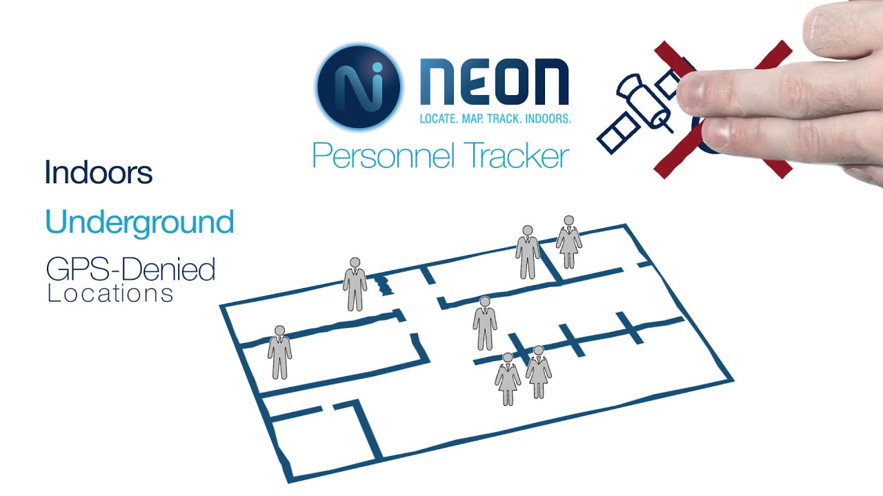 trx systems neon personnel tracker youtube