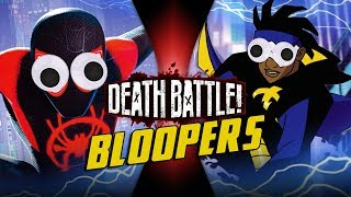 Miles Morales VS Static BLOOPERS!