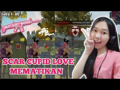 download SCAR CUPID LOVE, SOLO VS SQUAD - FREE FIRE INDONESIA