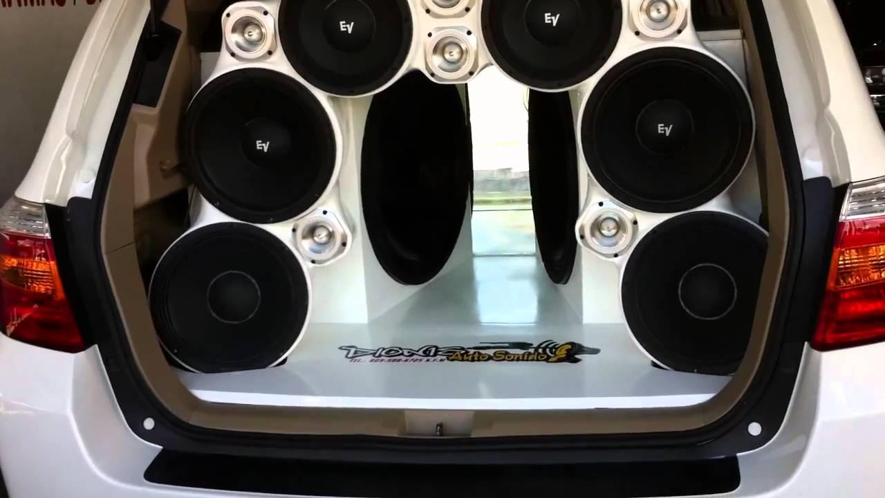 Dionis Auto Sonido Trabajo 2 Bajo De 21 Y 6 Ev Toyota