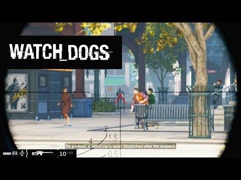 Watch Dogs Hack City #3 - Shot Clock Snipe!