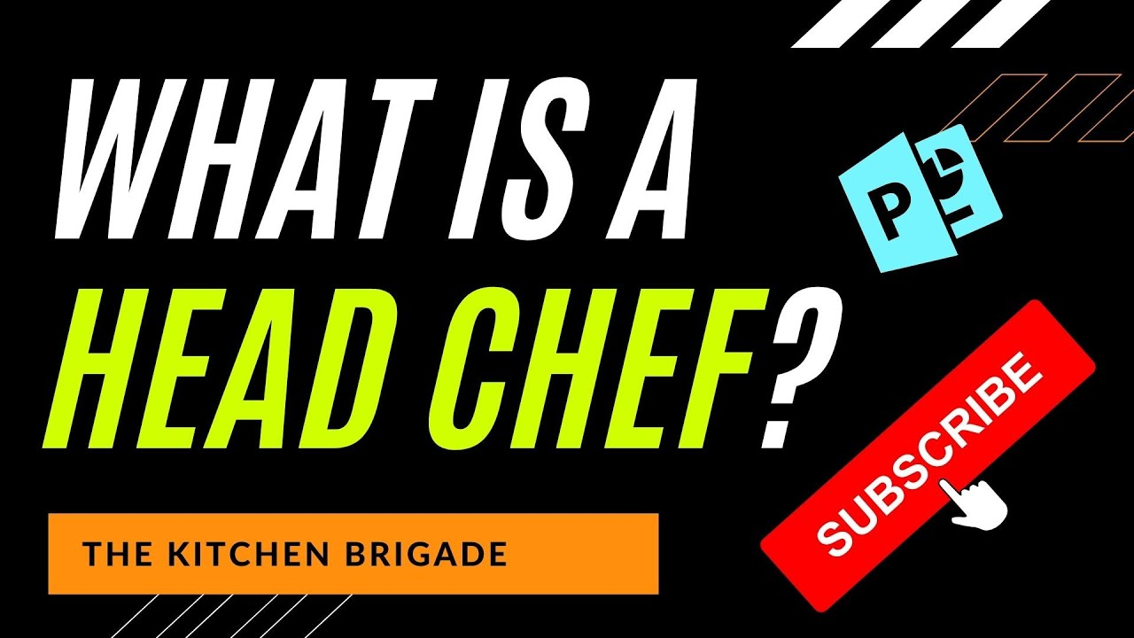What is a head chef or chef de cuisine job description - What is a chef de cuisine ...