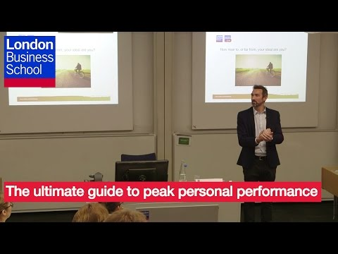 A Day of Executive Education - Jeff Archer, The ultimate guide to peak personal performance