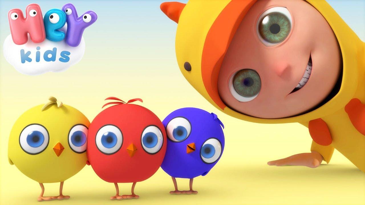 Yuncai carino cartone animato stampa pulcino bambini ragazzi felpe