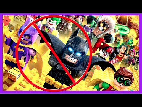THE LEGO BATMAN MOVIE BUT WITHOUT LEGO