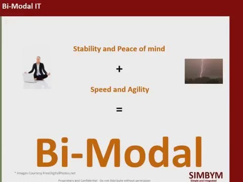Bimodal speech by Raj Rajendran CEO-SIMBYM at PMI LA South Bay, CA