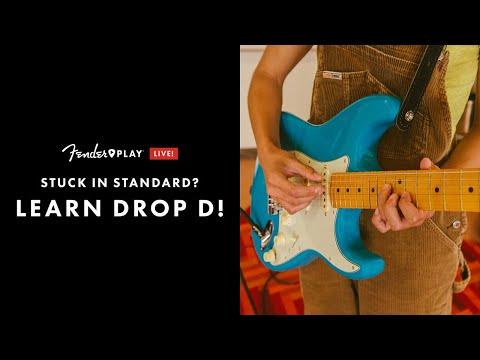 Learn Drop D   Fender Play LIVE   Fender
