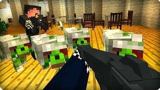 Зомби собаки атакуют [ЧАСТЬ 35] Зомби апокалипсис в майнкрафт! - (Minecraft - Сериал)