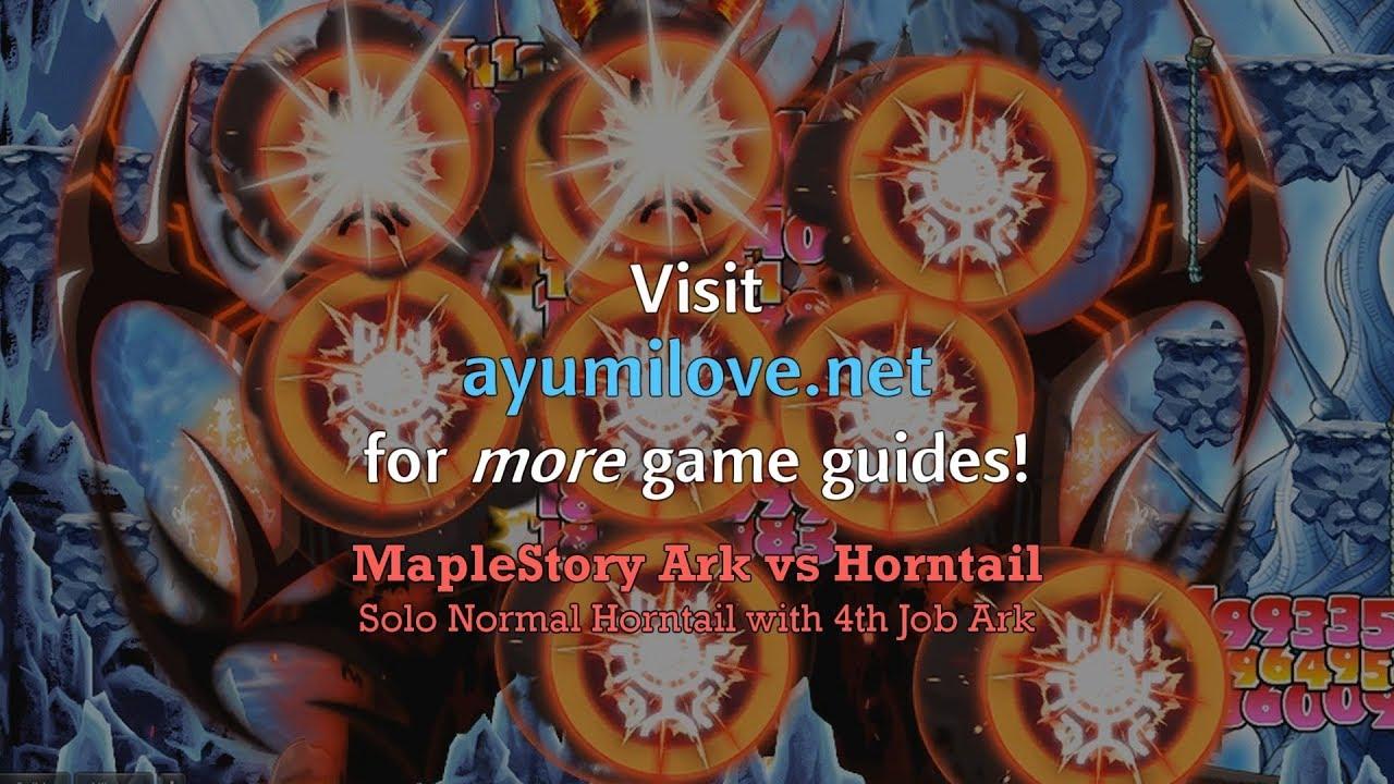 MapleStory Ark Skill Build Guide | AyumiLove
