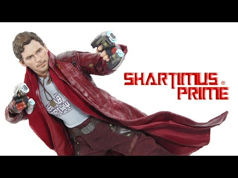 Hot Toys Star Lord Vol  2 Guardians of the Galaxy Movie 1:6 Scale Marvel Figure Toy Review