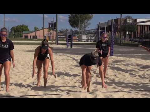 LSU Beach Volleyball working toward a 2017 NCAA Championship
