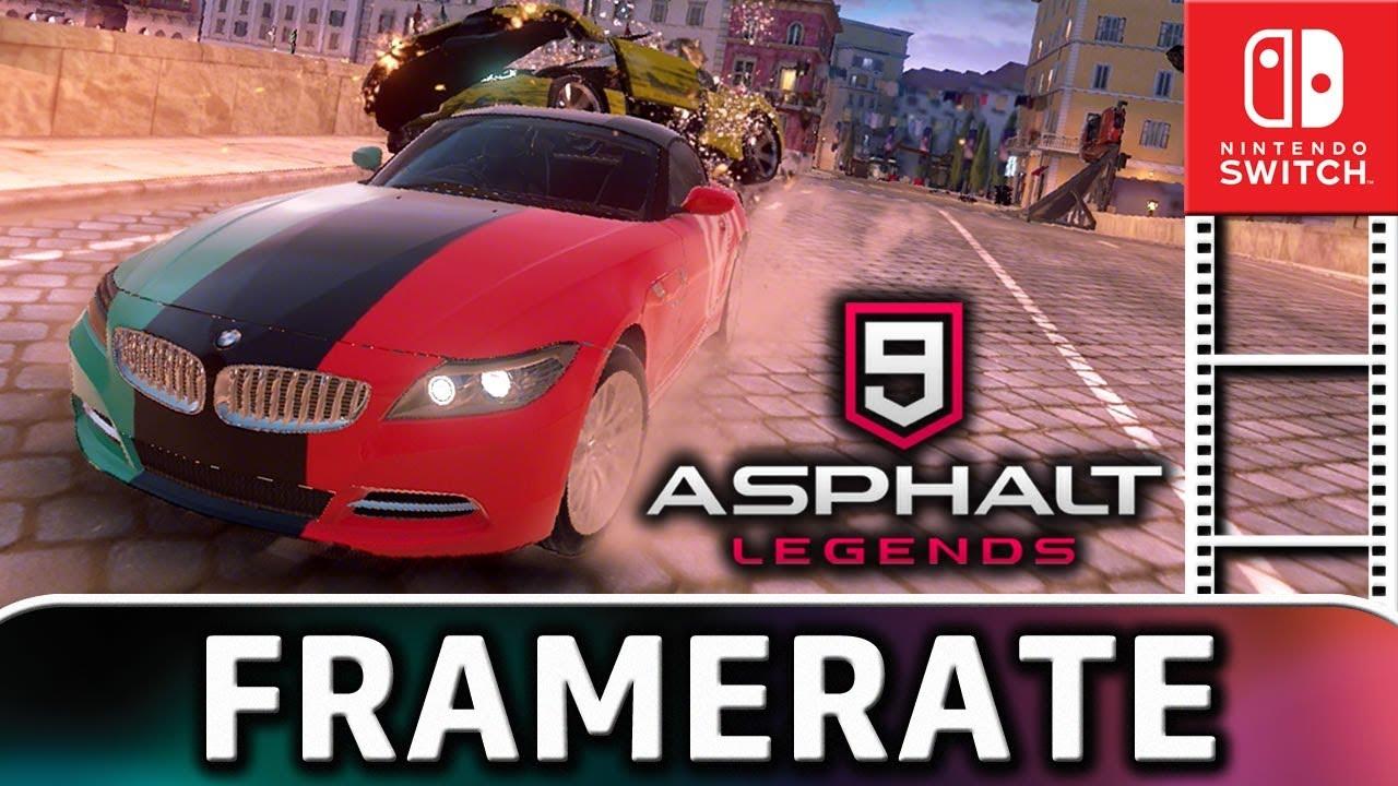 Asphalt 9: Legends   Frame Rate TEST on Nintendo Switch