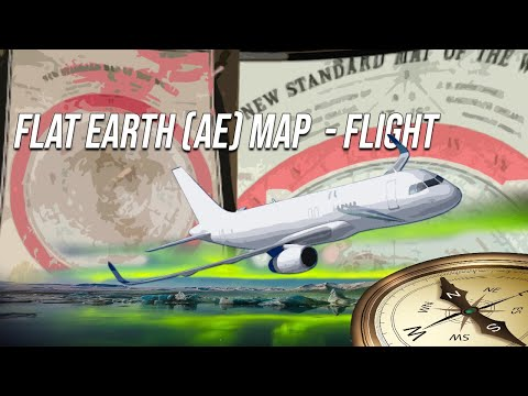 Flat Earth Ae Map Southern Flights No Longer A Problem Youtube