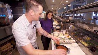 Nancy Kerrigan Shows Us How to Make Super Bowl Snacks