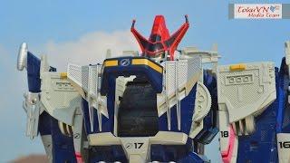 [TMT][097] Review DX Chouzetsu GouGou Gattai Daivoyager! 轟轟戦隊ボウケンジャー! BattleFleet Megazord!