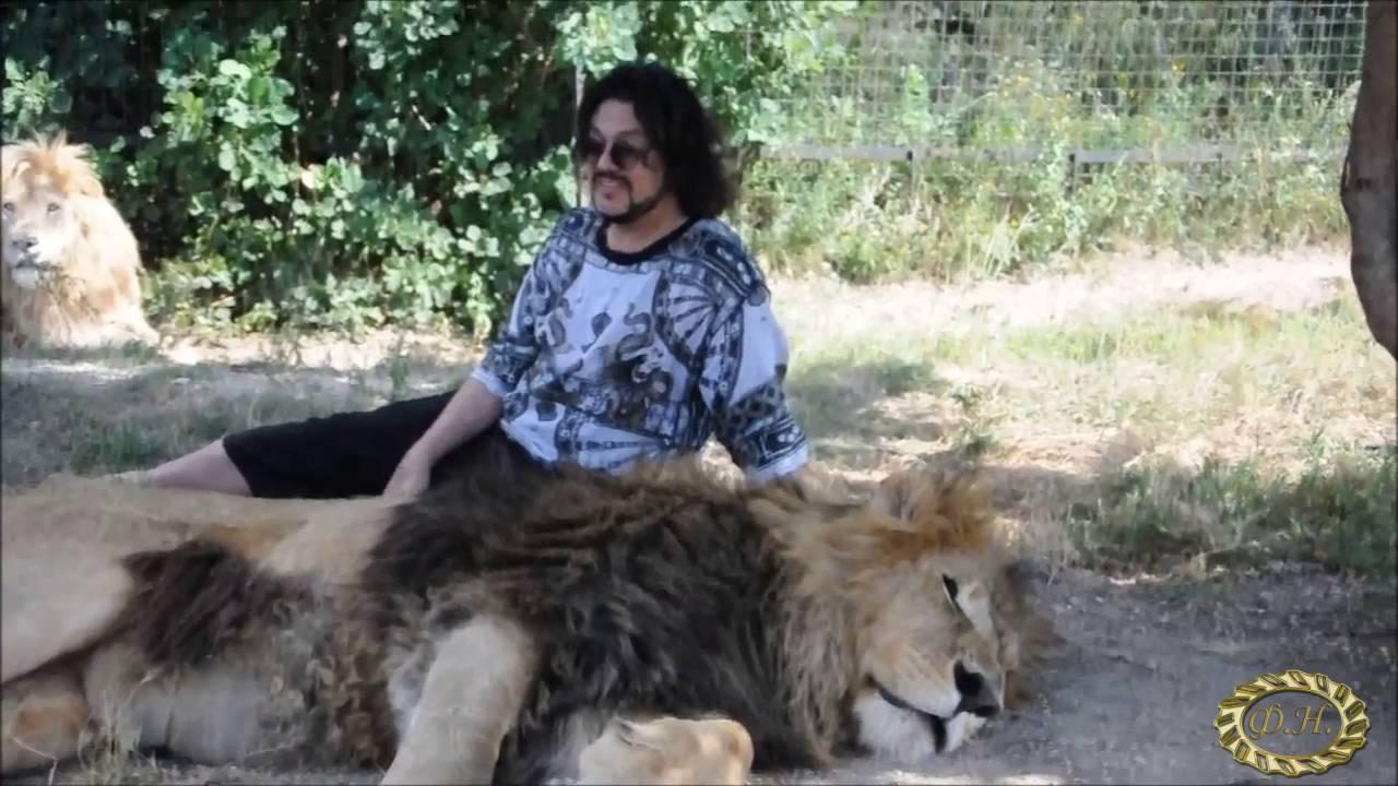 Филипп Киркоров в сафари парке львов
