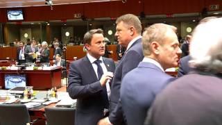 STIRIPESURSE.RO Klaus Iohannis la reuniunea Consiliului European