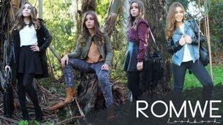 Romwe Lookbook ☮