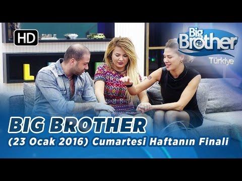 Big Brother Türkiye (23 Ocak 2016) Haftanın Finali - Bölüm 76