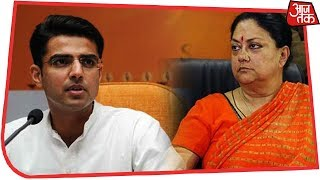 The first results are out and both Vasundhara Raje and Sachin Pilot...