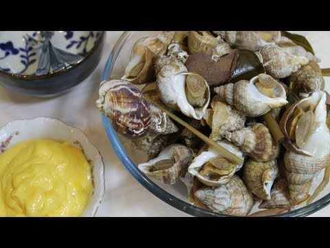 How to make Whelks With Aromatic Herbs - Morgane Recipes