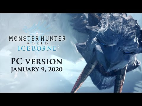 Вышла ПК версия дополнения Iceborne для Monster Hunter: World