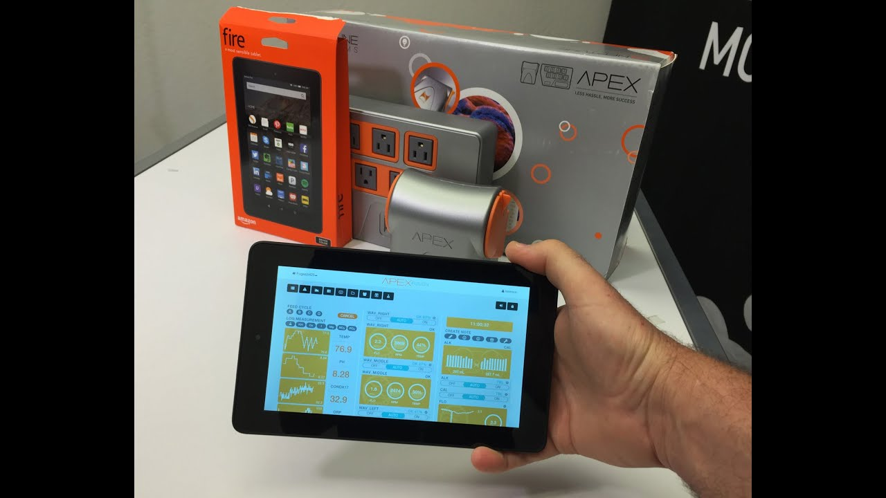 Get A Full Color Touch Screen For Your Neptune Apex For