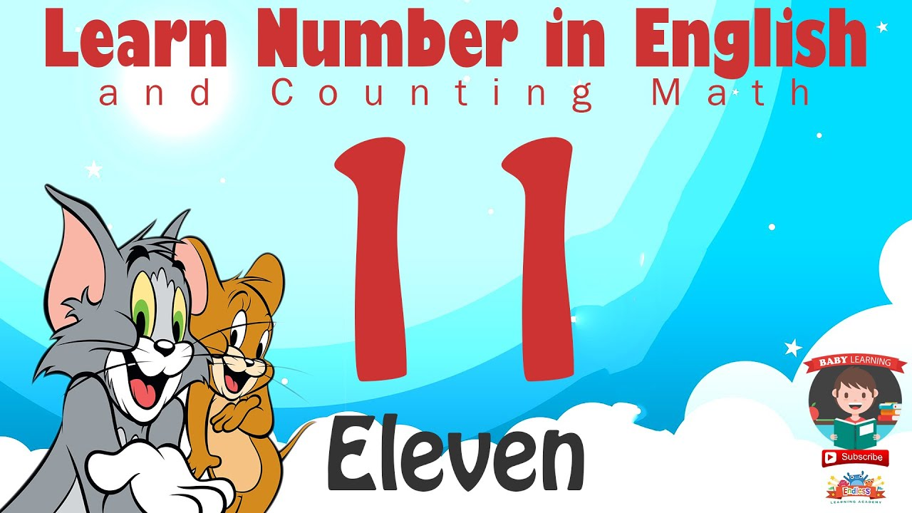 Download Learn Number Eleven 11 in English & Counting, Math