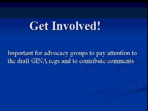 Webinar: All About the Genetic Information Non-Discrimination Act of 2008 (GINA)