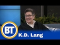 Capture de la vidéo K.d Lang Chats With Us About Her Music Career!