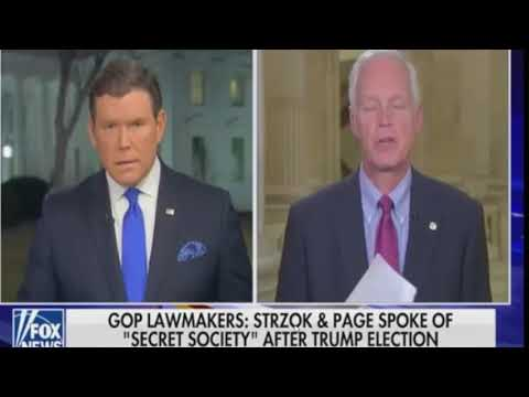 """Senate has an informant talking about the """"secret society"""" of the FBI"""