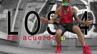 Los 4 - Me acuerdo / Salsaton Choreo for ZUMBA by Jose Sanchez